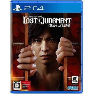 LOST JUDGEMENT PS4 中古 ロストジャッジメント