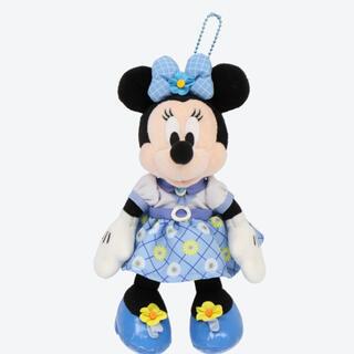 ミニーマウス(ミニーマウス)の🌟ミニーマウス Blue Ever After ぬいぐるみバッジ🌟(キャラクターグッズ)