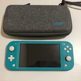 Nintendo Switch - Nintendo Switch Lite 本体 ターコイズ キャリングケース付き