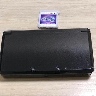 ニンテンドー3DS - ニンテンドー3DS ブラック ポケットモンスタームーン