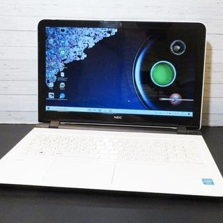 エヌイーシー(NEC)の【超綺麗な白】薄型/WEBカメラ/NEC/ノートパソコン(ノートPC)
