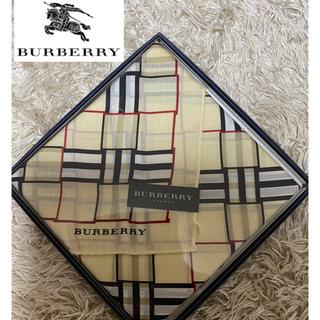 BURBERRY - バーバリー BURBERRY  ハンカチ タオルハンカチ スカーフ 新品未使用