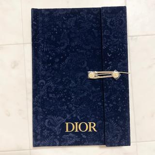 Dior 2021 限定 クリスマス ノベルティ ノート 手帳