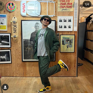 BEAMS - <Dickies> ×「TRIPSTER」セットアップ Olive