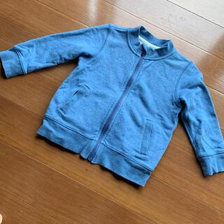 ムジルシリョウヒン(MUJI (無印良品))の無印良品 ジップアップジャケット ブルゾン 上着(ジャケット/上着)