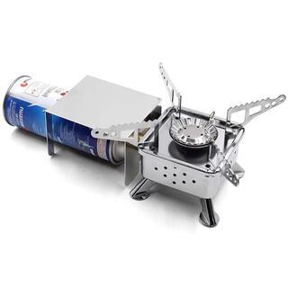 シングルバーナー 折りたたみ式 圧電点火 キャンプバーナー