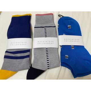 マッキントッシュフィロソフィー(MACKINTOSH PHILOSOPHY)のマッキントッシュ 靴下 メンズ(ソックス)