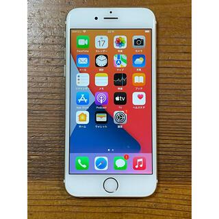 アップル(Apple)のiPhone 6s 128GB gold SIMフリー(スマートフォン本体)