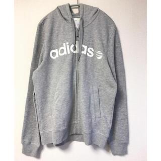adidas - adidas アディダス ネオ パーカー グレー