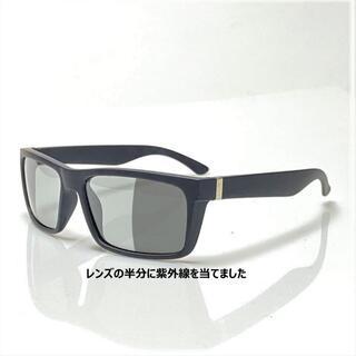 調光 サングラス スクウェア 偏光レンズ UVカット ギラツキ防止 釣 ドライブ