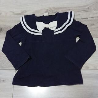 110cm長袖トレーナー 110 女の子(Tシャツ/カットソー)