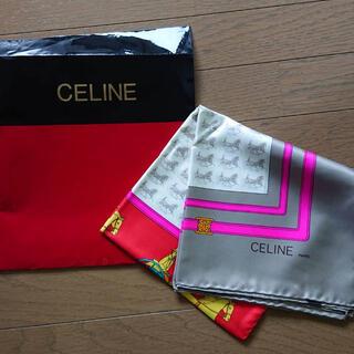 celine - セリーヌ celine スカーフ