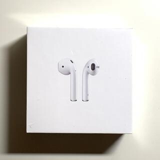 Apple - 【新品・未開封】純正 Air Pods エアポッズ (第2世代)