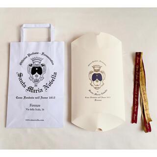 サンタマリアノヴェッラ(Santa Maria Novella)のサンタマリアノヴェッラ ギフトボックス ショッパー セット(ショップ袋)