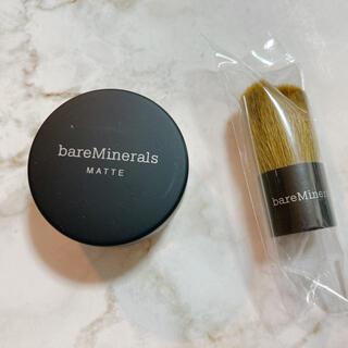 bareMinerals - ベアミネラル ミニ ファンデーション &ブラシ