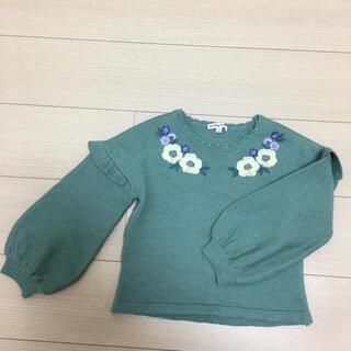 anyFAM - エニィファムグリーンセーター120
