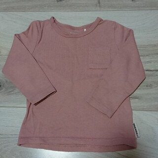 100cm 長袖 トレーナー ピンク 100(Tシャツ/カットソー)