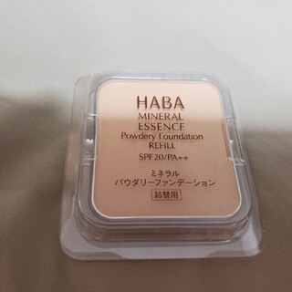 HABA - ハーバー ミネラルパウダリーファンデーション/詰替用 ベージュオークル 01(9