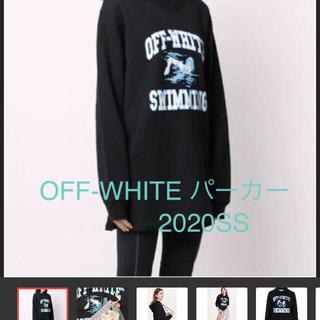 オフホワイト(OFF-WHITE)のOFF-WHITE オフホワイト レディース パーカー フーディー(パーカー)