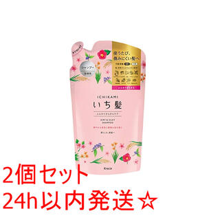 クラシエ いち髪  シャンプー 詰替 340ml 2個セット(シャンプー)