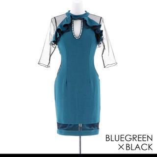 dazzy store - キャバ ドレス 袖付き ミニドレス セクシー ナイトドレス キャバクラ
