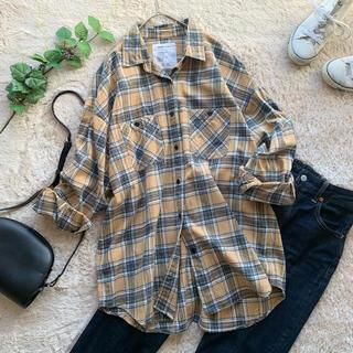 FRAMeWORK - フレームワーク ネルシャツ ビッグシルエット オーバーサイズ チェック ゆったり