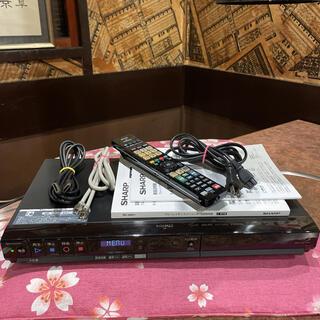 SHARP - SHARP BD-HW51 ブルーレイ 2番組W録 500GB リモ等付フル装備