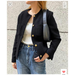 DEUXIEME CLASSE - ★新品★ Garconne Tweed ジャケット