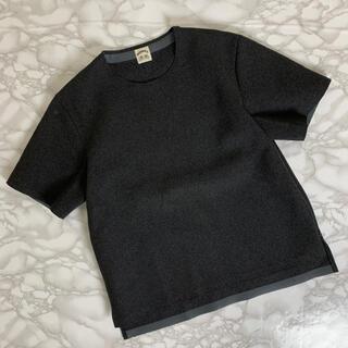 SUNSEA - 【SUNSEA】サンシー 名作メルトンTシャツ ドメブラ