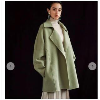 Mila Owen - Mila Owen 襟2wayハーフジャケット コート