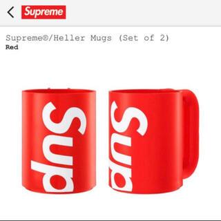 Supreme - Supreme®/Heller Mugs (Set of 2)