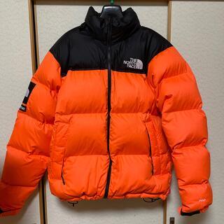 Supreme - supreme north face nuptse jacket orange