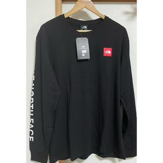 THE NORTH FACE - THE NORTH FACE ロゴ プリント ロンT XXL
