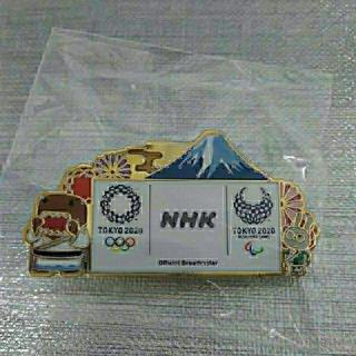 東京オリンピック 東京2020 NHK ピンバッジ 富士山<非売品>