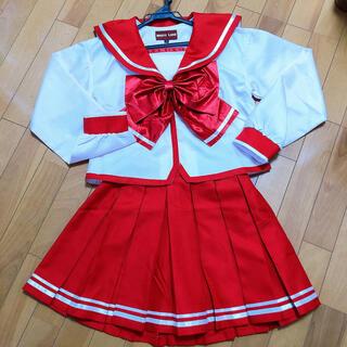 ボディライン(BODYLINE)のピンク 赤 セーラー服(衣装)