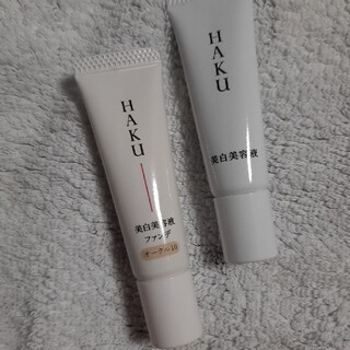 SHISEIDO (資生堂) - ハク メラノフォーカスz 美容液 ファンデ