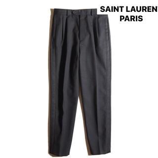 Saint Laurent - SAINT LAURENT PARIS サンローランパリ テーパードパンツ