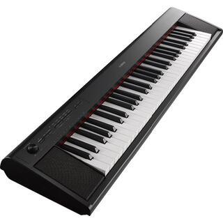 ヤマハ(ヤマハ)のヤマハ YAMAHA 電子キーボード piaggero ブラック NP-12B(電子ピアノ)