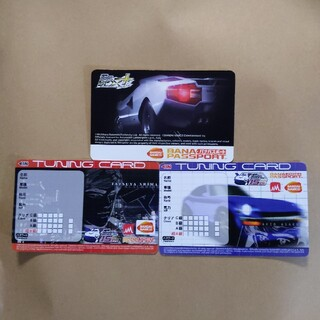 バンダイナムコエンターテインメント(BANDAI NAMCO Entertainment)の湾岸ミッドナイト バナパスポート 3枚(カード)