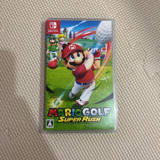 Nintendo Switch - マリオゴルフ スーパーラッシュ Switch