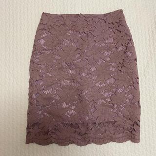 ディーホリック(dholic)のタイトスカート くすみピンク(ミニスカート)