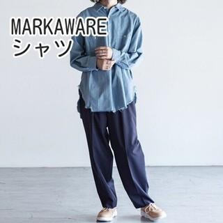 マーカウェア(MARKAWEAR)のMARKAWARE RESIZED UTILITY SHIRTS シャツ マーカ(シャツ)