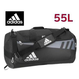 adidas - 【新品・未使用】アディダス ダッフルバッグ ボストンバック 黒 55L