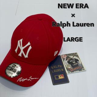 ニューエラー(NEW ERA)の【美品】NEW ERA×Ralph Laurenコラボ 限定 MLB (キャップ)