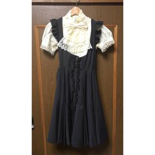 ヴィクトリアンメイデン(Victorian maiden)のキュリアスジャンパースカート メアリーマグダレン Mary Magdalene(ひざ丈ワンピース)
