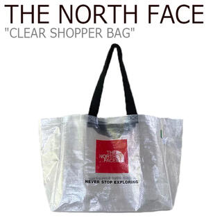 THE NORTH FACE - ノースフェイス エコバッグ クリア