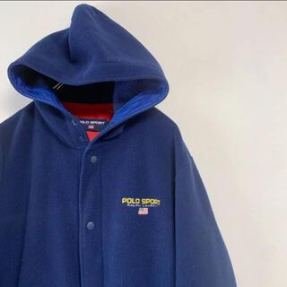 Ralph Lauren - 90年代 POLO SPORT Ralph Lauren フリース パーカー