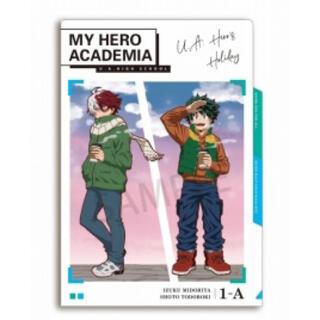 シュウエイシャ(集英社)の僕のヒーローアカデミア アニメイト限定 3ポケットクリアファイル 緑谷・轟(クリアファイル)