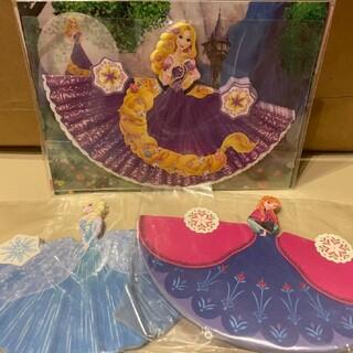 Disney - アナと雪の女王 エルサとアナ ラプンツェル ドレスメモ 【ディズニー】【未使用】