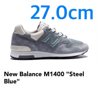 New Balance - 【新品未使用】New Balance M1400  Steel Blue